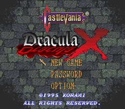 Castlevania: Dracula X Soundfont | Musical Artifacts